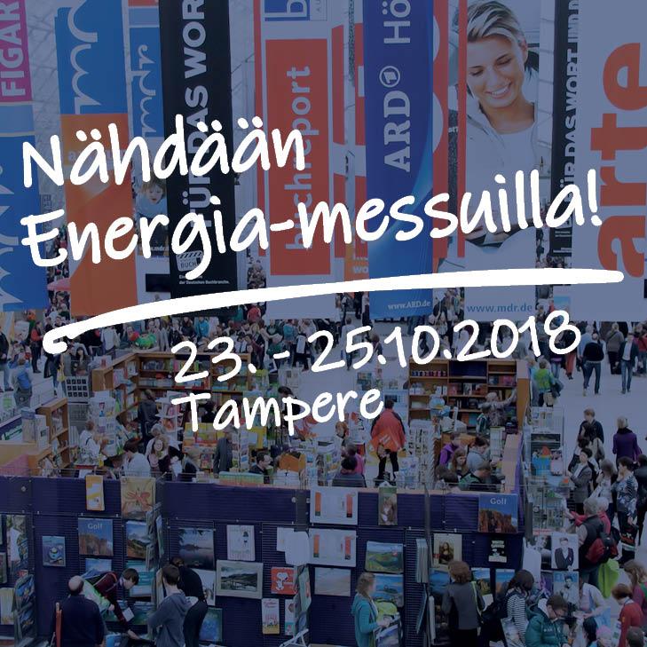 Celtech mukana – Energia2018 messut