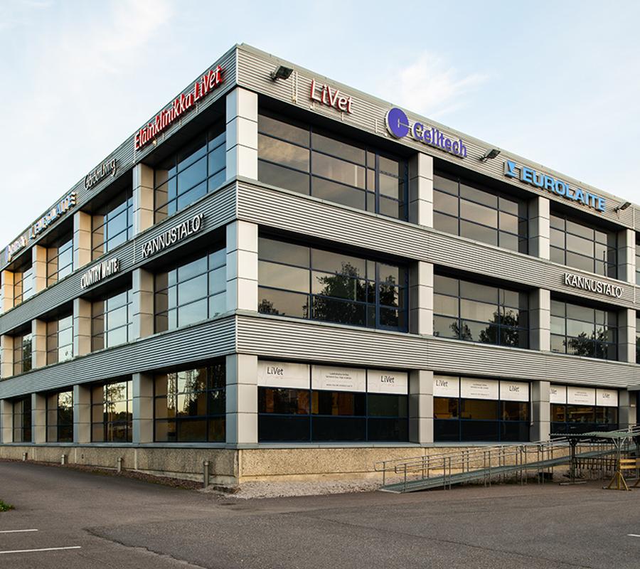 Celltech office in Finland