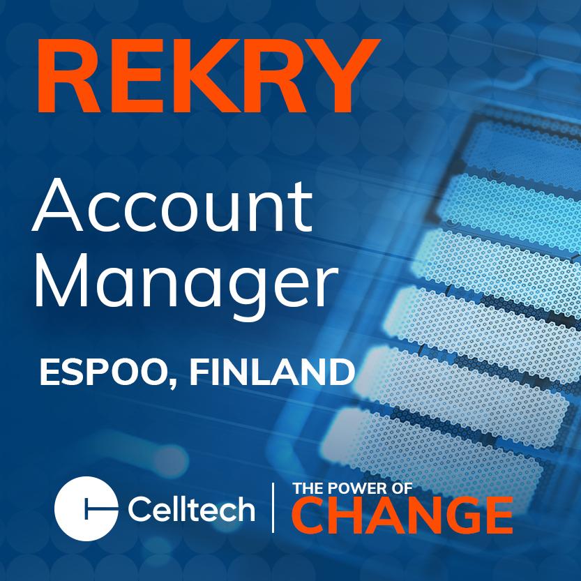 Celltech Rekry Accountmanager Nelio Copy
